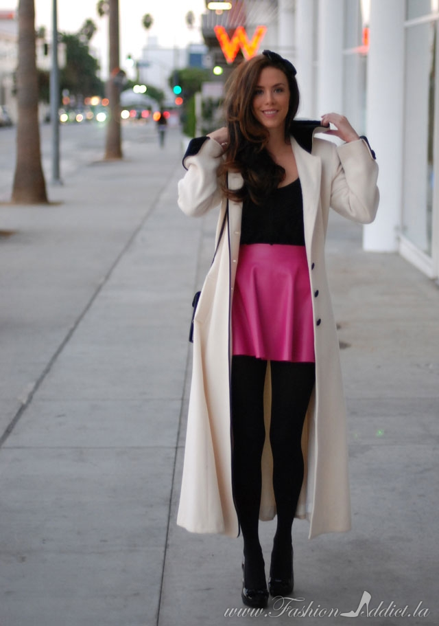Short Skirt Long Jacket - Kier Couture