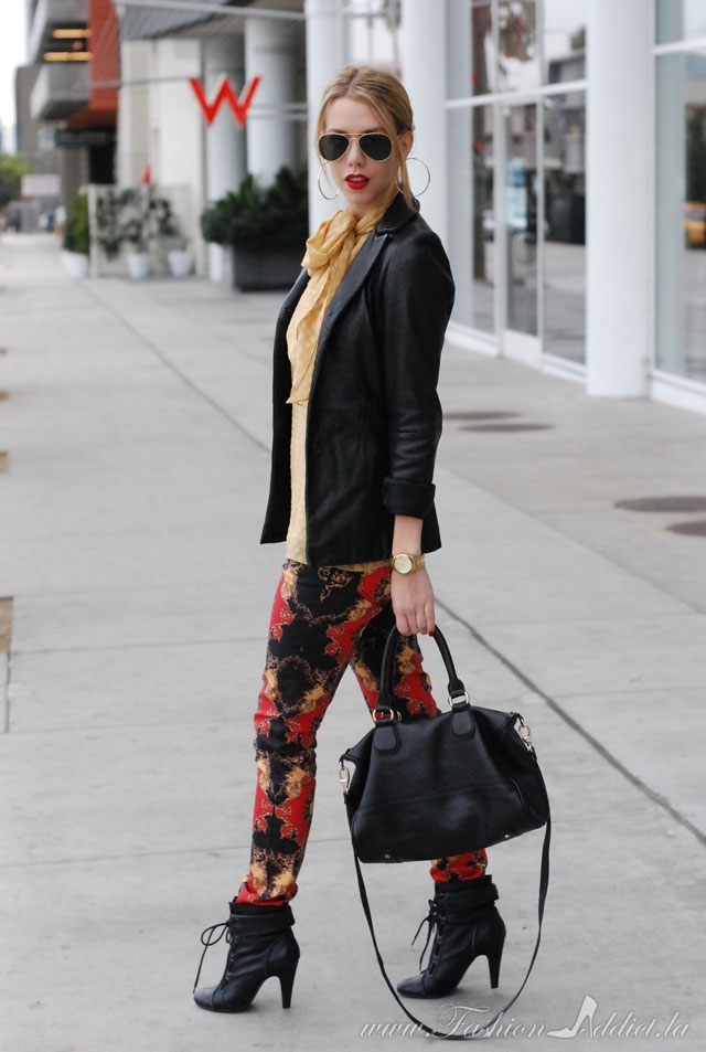 How to wear Baroque Pants