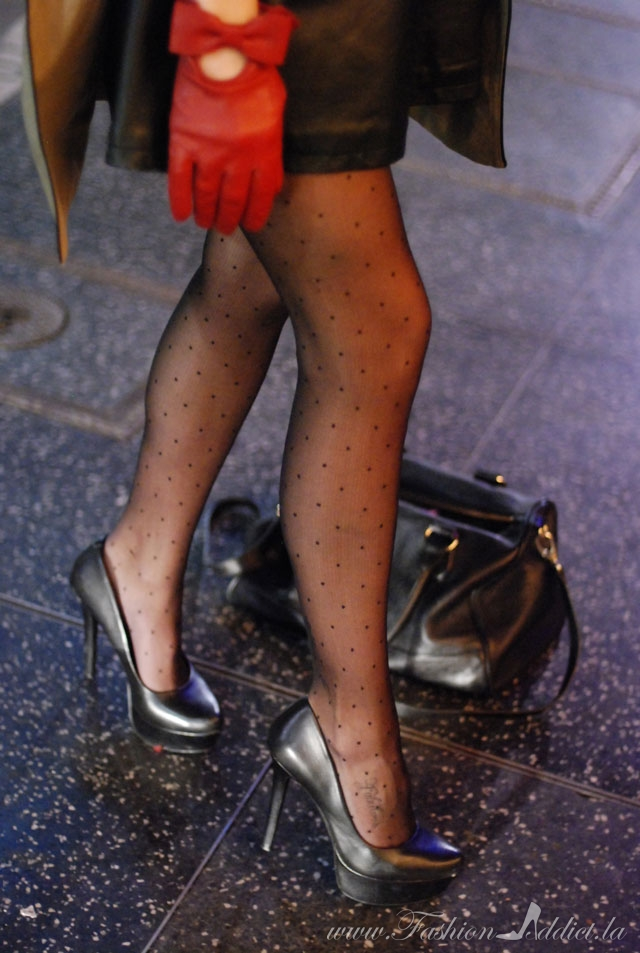polkadot tights