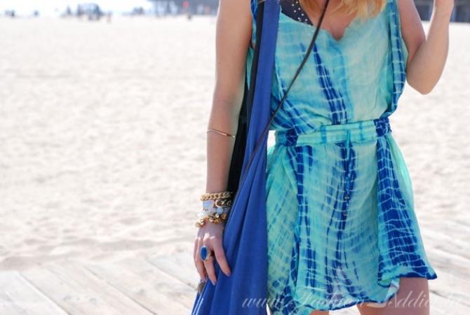 No Sew DIY Slip Dress & Style Challenge: Coachella Fashion