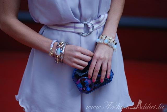 Zara Lucite clutch