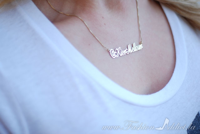 instagram name necklace