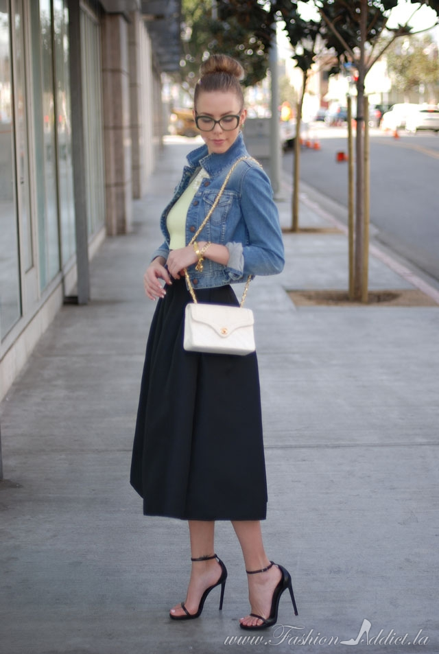 50s Flare The Modern Poodle Skirt