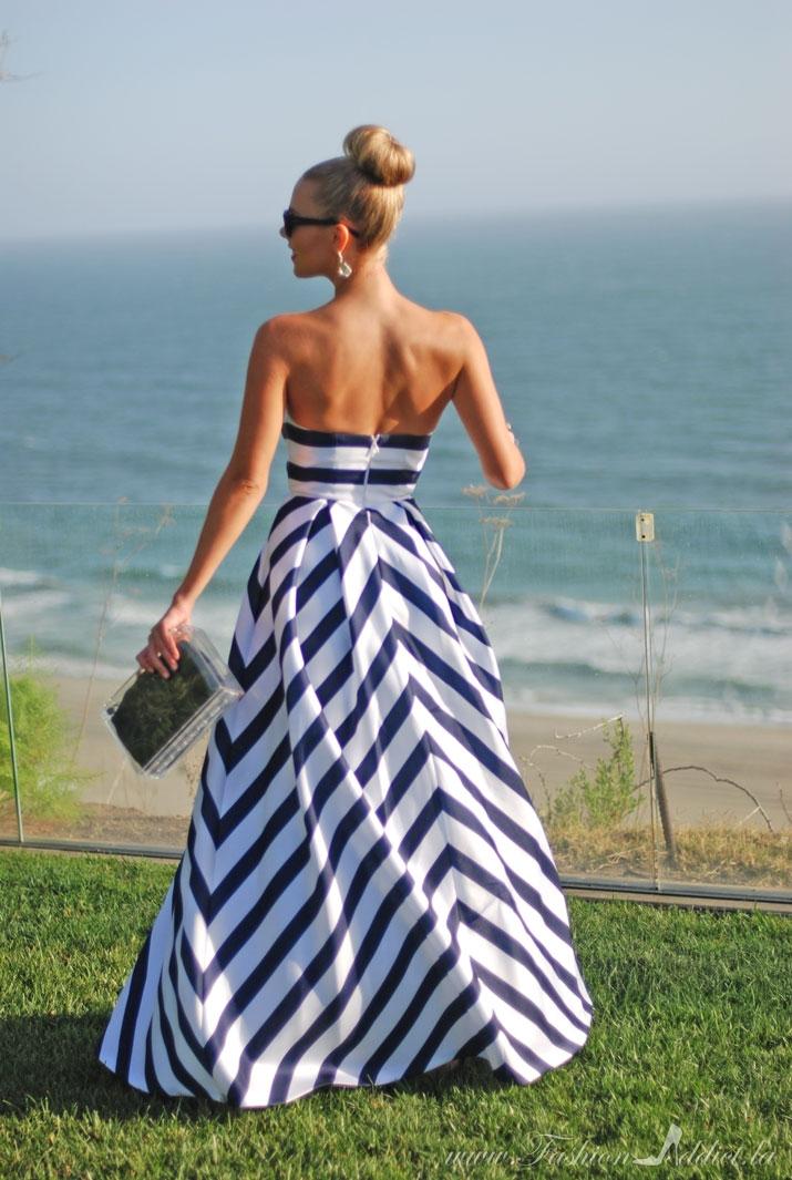 Gazar gown