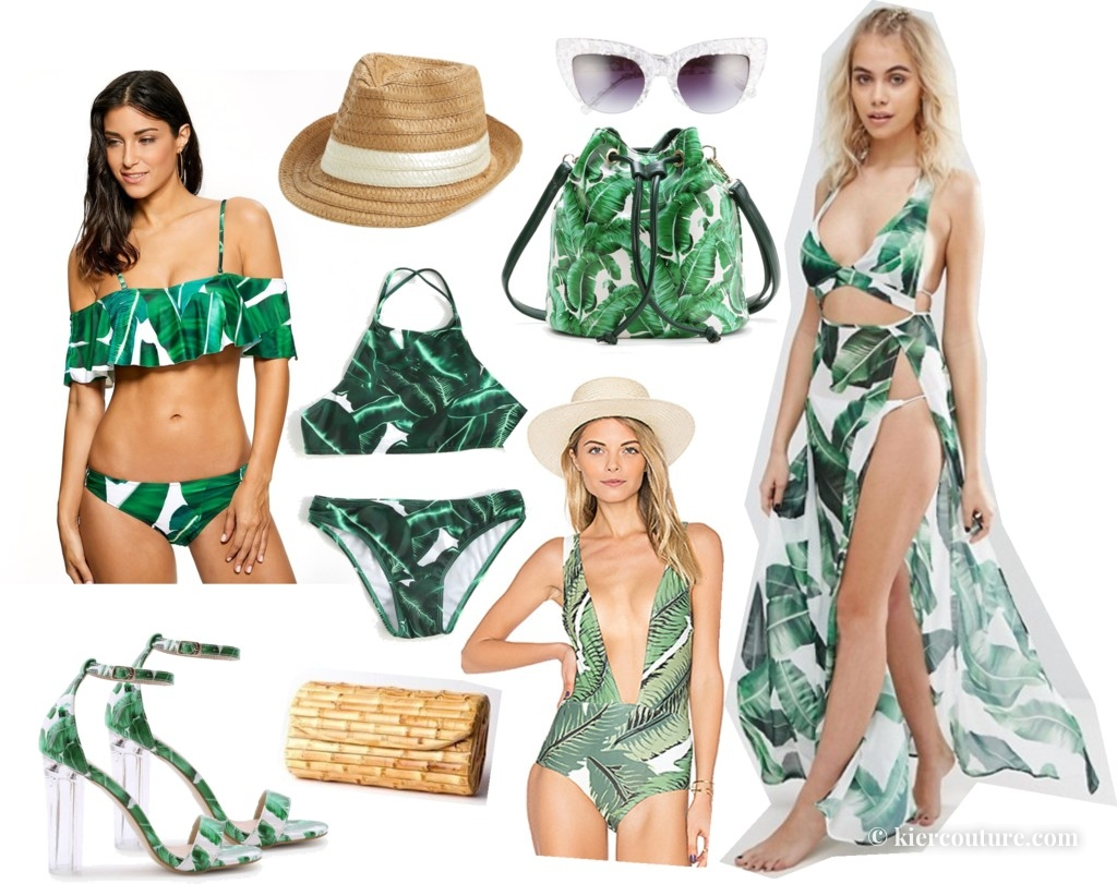 palm leaf fashion