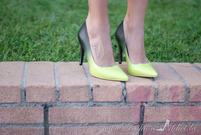 DIY Jimmy Choo Ombre Shoes